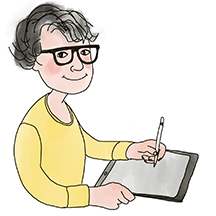 Jeannie Mecorney Illustrator Graphic Memoir Creator